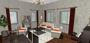 Дизайн интерьера с использованием программы «ArchiCAD»