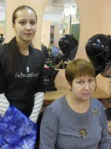 Обучение прикорневому объему волос