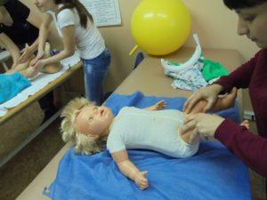 Приемы детского массажа