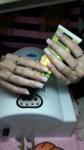 Обучение наращиванию ногтей гелем