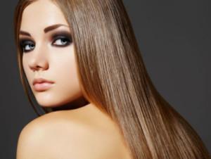 Кератиновое восстановление (выпрямление) волос