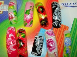 Обучение плоскостному дизайну ногтей
